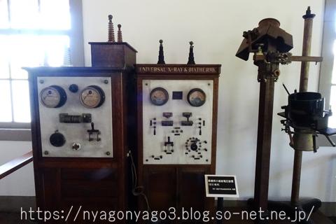 名古屋衛戍病院内の機器