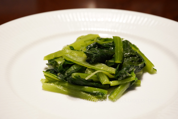 小松菜のソテー